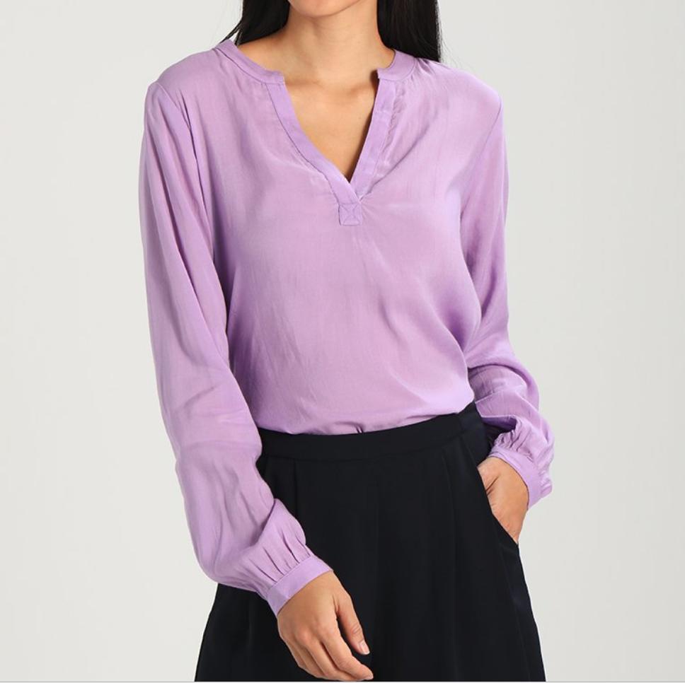 Kaffe-blouse