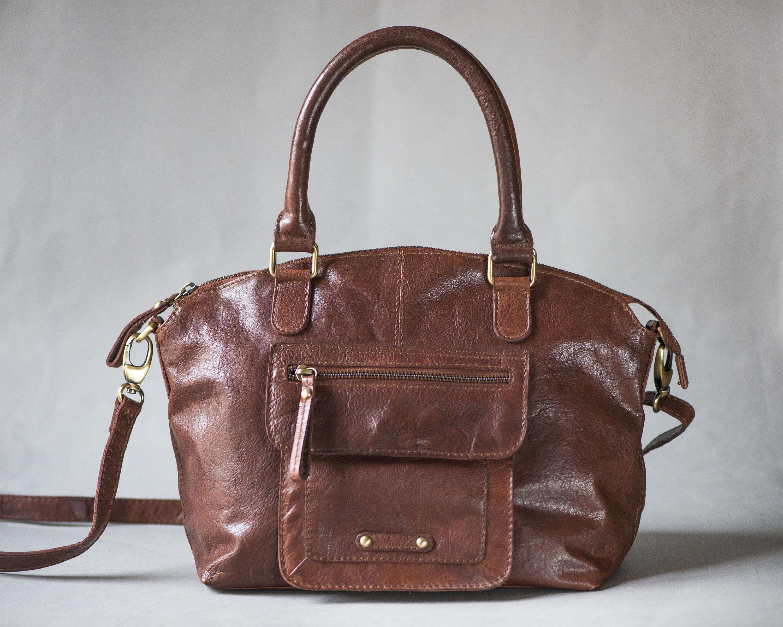Vintage-leatherhandbag