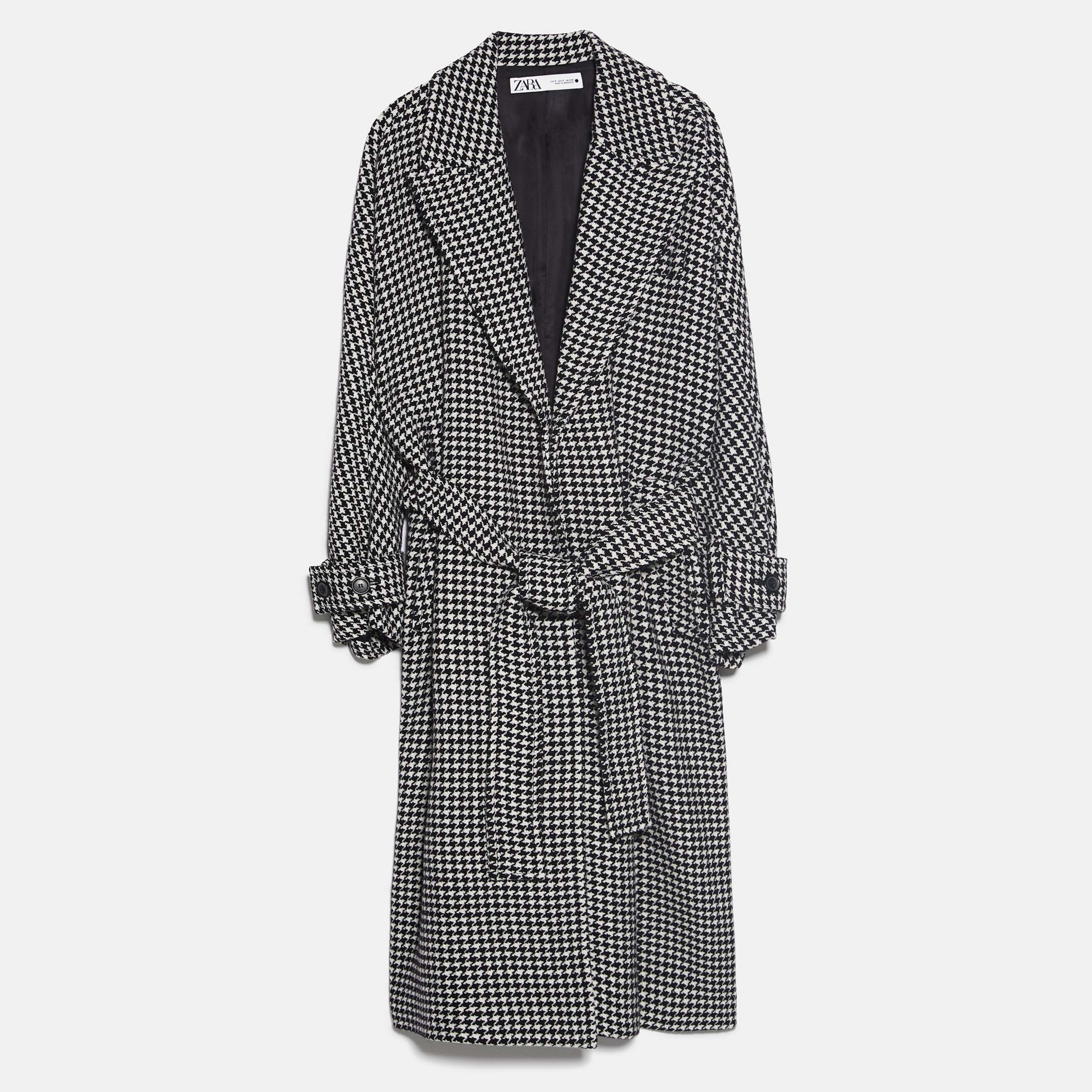 Zara-houndstoothcoat